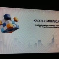 Photo taken at Kaos Communication by Simone Ʃ. on 4/16/2013
