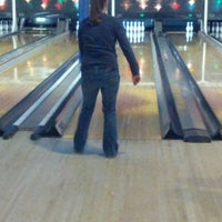 Photo taken at Palace Bowling & Entertainment Center by Adam T. on 2/24/2013
