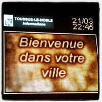 Photo taken at Toussus-le-Noble by Carmen J. on 3/22/2013
