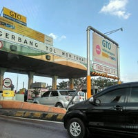 Photo taken at Gerbang Tol Moh. Toha by Dody S. on 8/10/2016