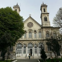Photo taken at Hagia Triada Greek Orthodox Church by Gülizar B. on 4/6/2013