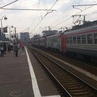 Photo taken at Savyolovsky Rail Terminal by Сергей Б. on 5/24/2013