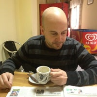 Photo taken at Cafe-bar El Parisien by Xian P. on 4/9/2013