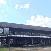 Photo taken at Rumah Adat Betang by Feisal F. on 7/16/2016
