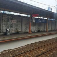 Photo taken at Stasiun Karet by Feisal F. on 1/2/2016