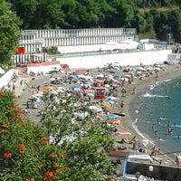 Photo taken at Kapuz Plajı by Salih Ç. on 6/21/2013