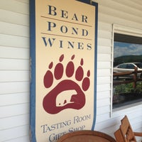Photo taken at Bear Pond Winery by Ali P. on 7/15/2013