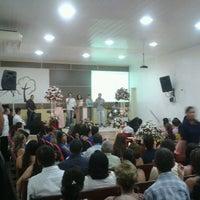 Photo taken at Igreja Bastita do Calvario by Maria S. on 1/30/2014
