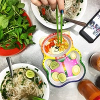 Photo taken at Phở Bắc Hải by Anna D. on 1/17/2017