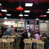 Photo taken at Five Guys by Brian D. on 2/3/2013