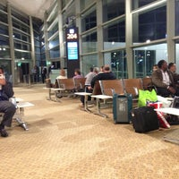 Photo taken at QAIA - Gate 204 by Mohammed K. on 4/9/2013