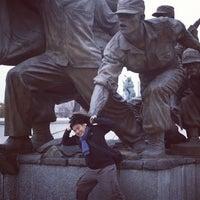 Photo taken at Korean War Memorial by Criszer T. on 11/27/2012
