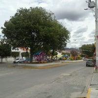 Photo taken at Praça Luiz Alves de Oliveira Bitú by Juliana T. on 6/29/2013