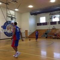 Photo taken at Red Oak Middle School by Darren R. on 4/13/2013