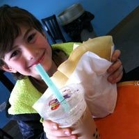 Photo taken at Boba And Crepes by Fleur A. on 2/12/2014