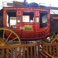 Снимок сделан в Wells Fargo History Museum пользователем Eve W. 8/4/2013