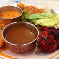 Photo taken at Aahar Indian Cuisine by Michael R. on 6/27/2013