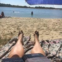 "Photo taken at Пляж ""Aqua"" by Evgeniya P. on 8/10/2017"