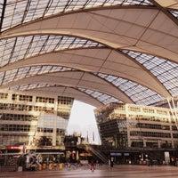 Снимок сделан в Мюнхенский международный аэропорт им. Ф.-Й. Штрауса (MUC) пользователем Anastasia 10/14/2013