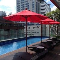 Photo taken at Hotel Icon Bangkok by Anastasia on 5/22/2015