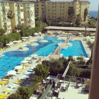 Photo taken at Hedef Spa Resort by Тоня Т. on 6/25/2013