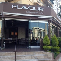 Photo taken at Flavour by Ελενη Σ. on 5/15/2014