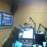 Photo taken at Rádio Nativa FM by Luiz D. on 7/24/2013