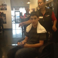 Photo taken at Sport Clips Haircuts of Allen by Bruce H. on 12/7/2012