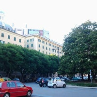 Photo taken at Piazza Paolo da Novi by C D. on 6/13/2013