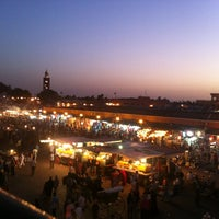 Photo taken at Place Jemaa el-Fna by alex m. on 6/23/2013