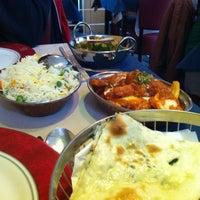 Photo taken at Taste of India by Tine P. on 9/13/2013