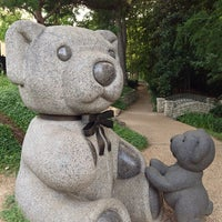 Photo taken at Teddy Bears Sculptures by PoP O. on 6/23/2013