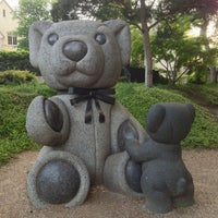 Photo taken at Teddy Bears Sculptures by PoP O. on 4/22/2013