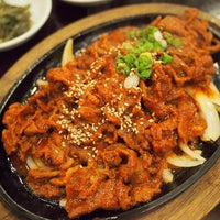 Photo taken at Chang Jing Korean BBQ by PoP O. on 4/20/2013