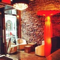 Photo taken at Le Petit Hôtel by Margo M. on 6/19/2014