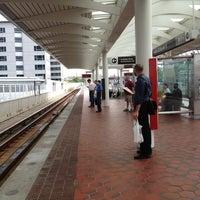 Photo taken at NoMa-Gallaudet U Metro Station by Kevin K. on 7/1/2013