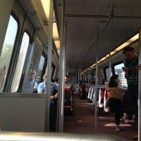 Photo taken at WMATA Yellow Line Metro by Kevin K. on 9/3/2013