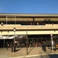 Photo taken at Braddock Road Metro Station by Kevin K. on 1/8/2013