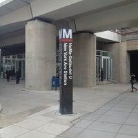 Photo taken at NoMa-Gallaudet U Metro Station by Kevin K. on 3/1/2013