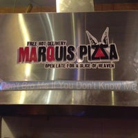 Photo taken at Marquis Pizza by Anissa S. on 12/19/2012