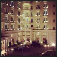 Photo taken at Grand Hotel Palace by Dasha D. on 4/13/2013