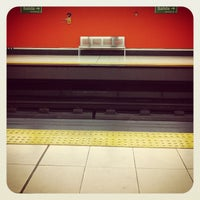 Photo taken at Metro Bambú by Luis Alberto F. on 10/29/2014