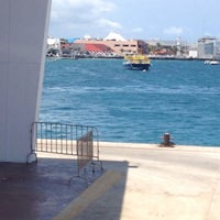 Photo taken at Ferry Terminal Mexico Waterjets by Norma C. on 5/4/2014