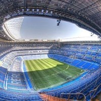 Photo taken at Santiago Bernabéu Stadium by Miguel V. on 7/9/2013