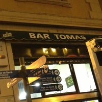 Photo taken at Bar Tomás by Alicia D. on 1/5/2013
