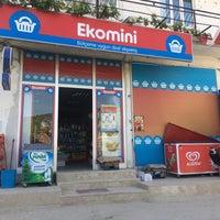 Photo taken at EKOMİNİ  MARKET by M. E f E 🇹🇷 《 ® 》🇹🇷 on 5/31/2016