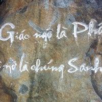 Photo taken at Chùa Pháp Hoa by Tina © on 7/20/2013