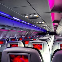 Photo taken at Virgin America by Dmytro K. on 6/4/2013