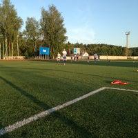 "Photo taken at Стадион ""Энергия"" by Вова Т. on 7/16/2013"
