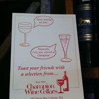 Photo taken at Champion Wine Cellars by Jennifer W. on 4/27/2013